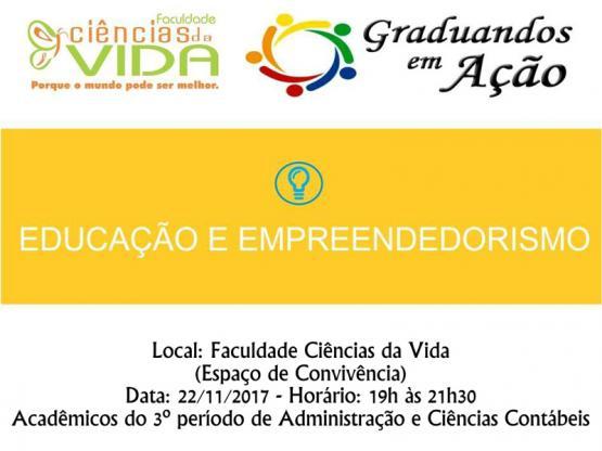 Graduandos em Ação - Educação e Empreendedorismo