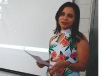 Professora Gerlice apresentou trabalho em Encontro Internacional de Estudos da Linguagem