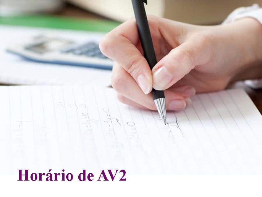 Coordenação do curso de Nutrição divulga horário de AV2
