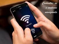 Cadastre-se e continue navegando na rede Wi Fi da FCV