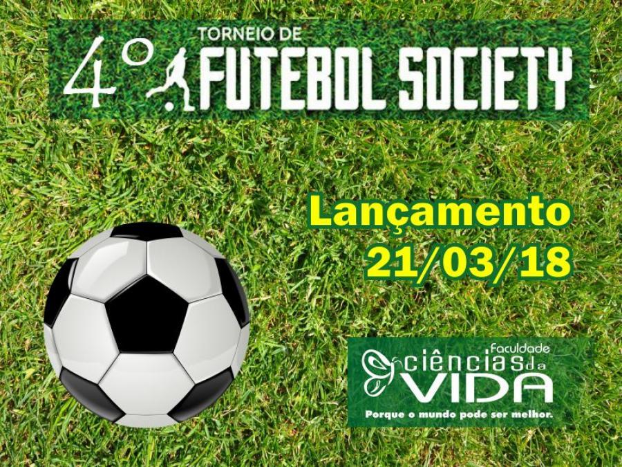 Lançamento do 4º Torneio de Futebol Society da FCV