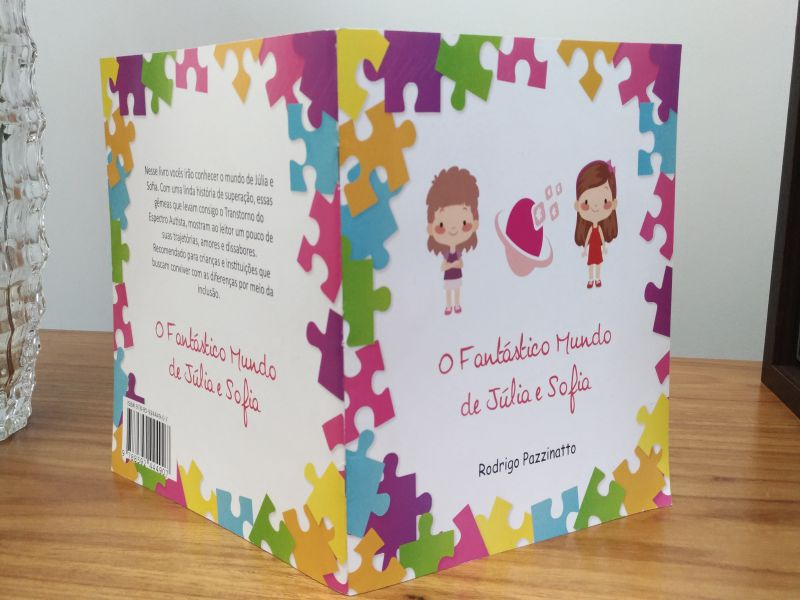 Aluno do curso de psicologia lança livro infantil sobre autismo e inclusão