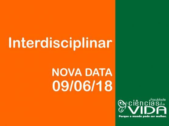 Interdisciplinar tem nova data