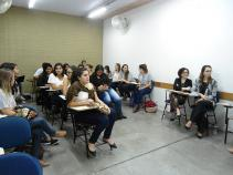 Alunos apresentam o Interdisciplinar 2018-1