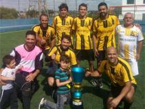 Participantes e campeões do 4º Torneio de Futebol Society FCV