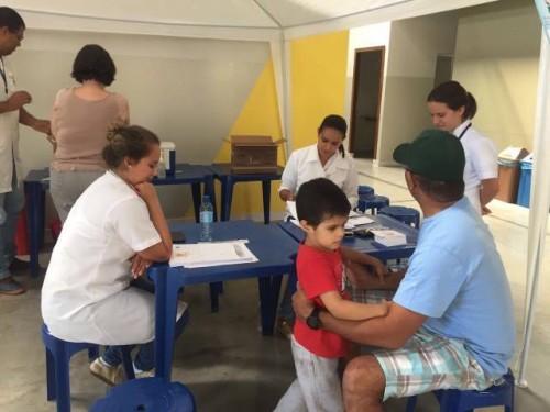 Posto de Vacinação na Campanha contra a Gripe