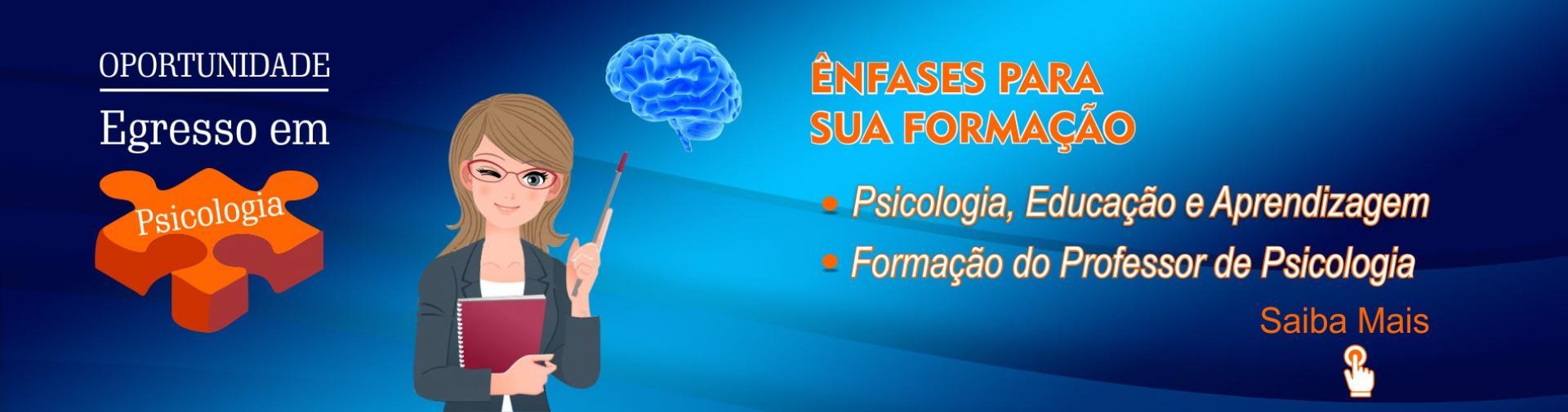 Ênfases psicologia