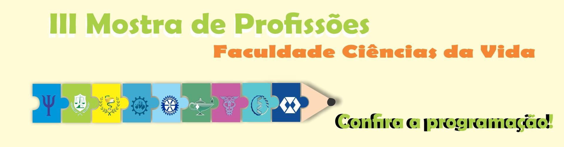 III MOSTRA DE PROFISSÕES FCV