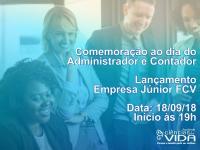 Evento em comemoração ao dia do Administrador e Contador e lançamento da Empresa Júnior