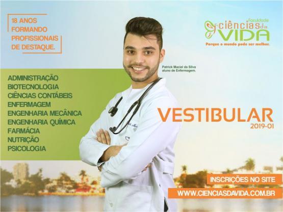 18 anos formando profissionais de destaque – Vestibular 2019-1º
