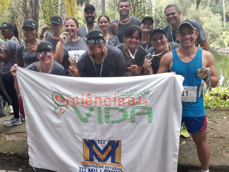 Grupo FCV Runners participou da 5ª Corrida e Caminhada Ciências Médicas - MG