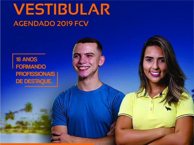 Inscrições abertas para o Vestibular Agendado 2019-1º semestre