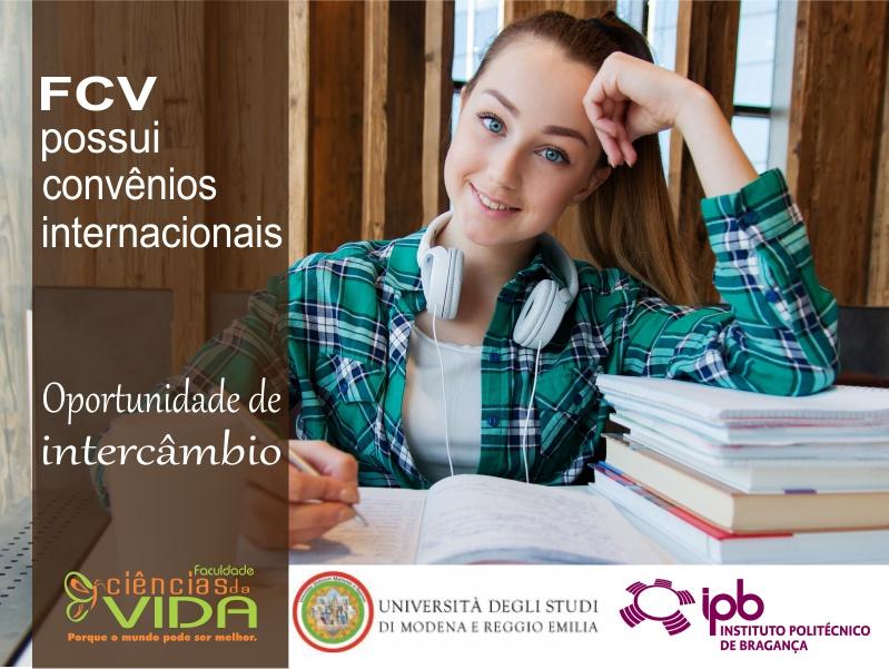 FCV possui convênios internacionais
