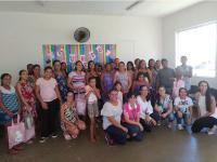 Projeto Educando para o Bem Nascer realizou Semana da Gestante no bairro Cidade de Deus