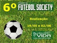 Abertas as inscrições para o 6º Torneio de Futebol Society da FCV