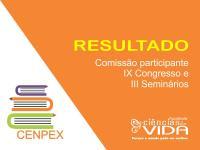 Resultado da seleção de alunos para o IX Congresso e III Seminários – FCV