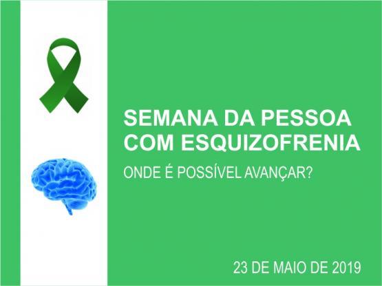 Roda de Conversa sobre a Semana Mundial da pessoa com Esquizofrenia