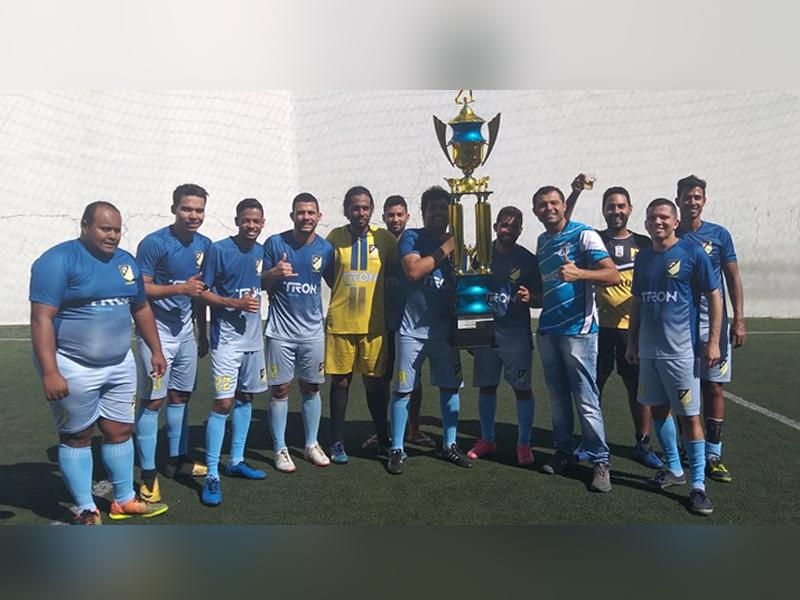 Gladiadores vence o 6º Torneio de futebol Society FCV