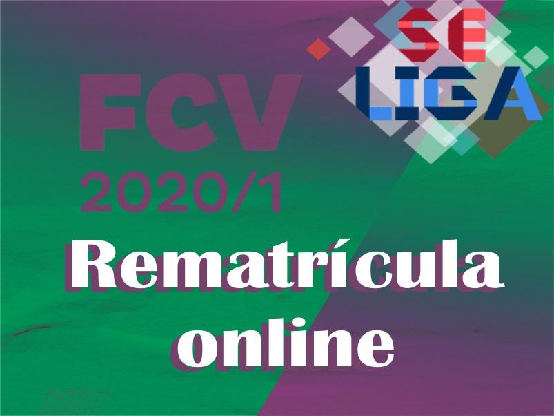 REMATRÍCULA 2020-1º SEMESTRE