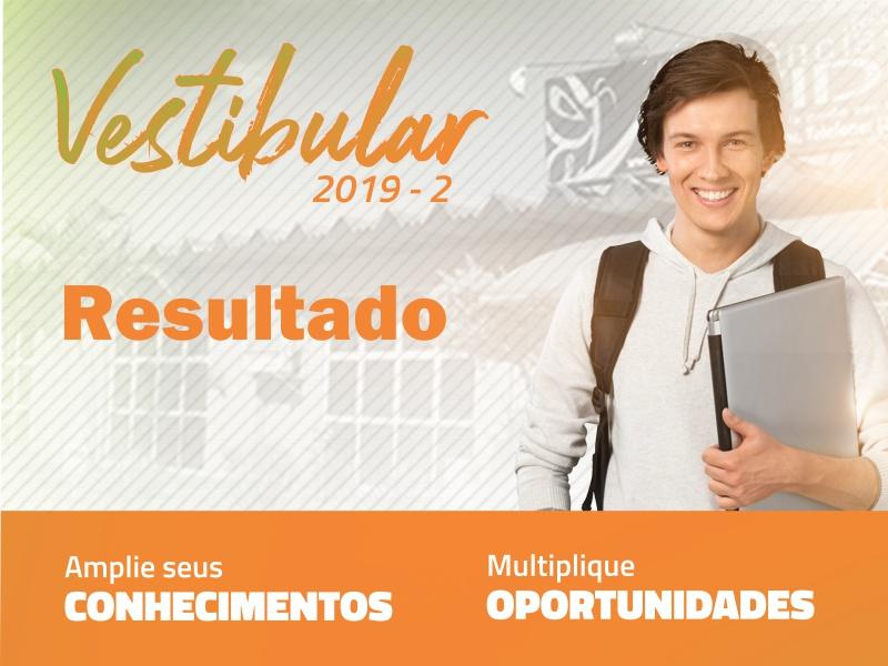 Aprovados no Vestibular 2019-2º semestre