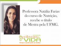 Titulo de Mestra pela UFMG