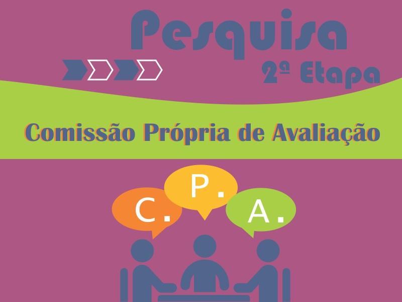 SEGUNDA ETAPA - PESQUISA CPA 2019-2