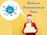 HORARIO DE FUNCIONAMENTO NAS FERIAS