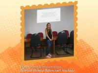 Eterna aluna da FCV agora é futura Doutora