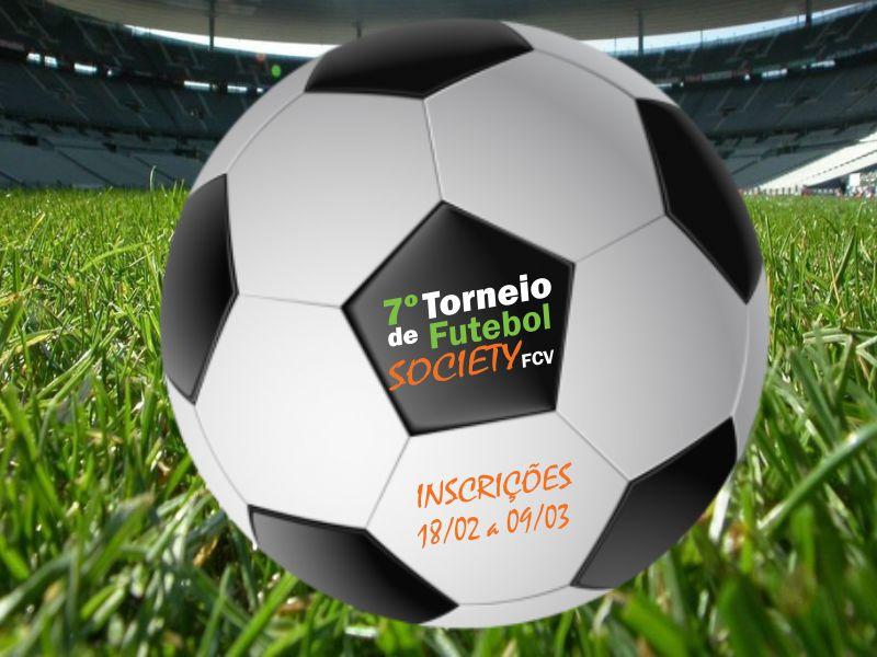 Inscrições abertas para o 7º Torneio de Futebol Society da FCV