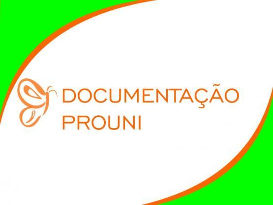 Documentação PROUNI 2020 – 2º semestre