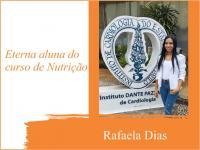Eterna aluna de Nutrição é aprovada na prova de residência