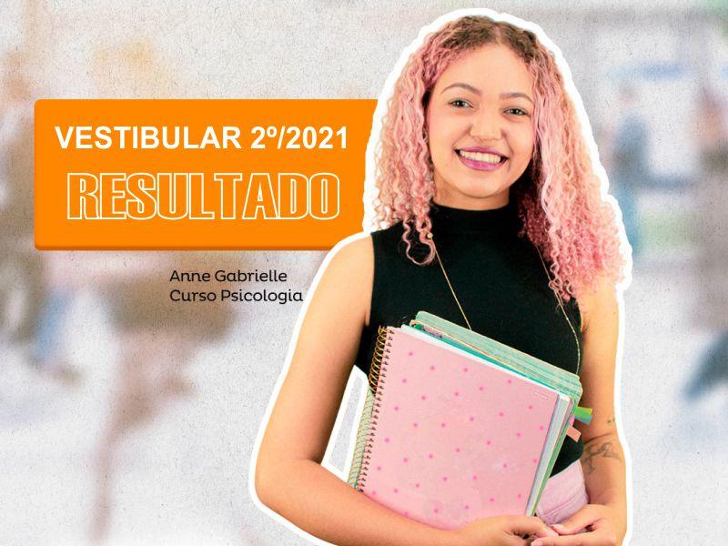 APROVADOS NO VESTIBULAR 2021-2º SEMESTRE