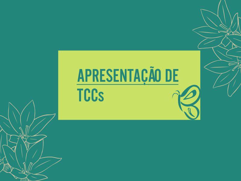 Confira o cronograma das apresentações dos TCCs 2021-1º semestre