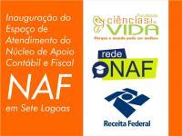 FCV inaugura espaço de Atendimento do Núcleo de Apoio Contábil e Fiscal - NAF