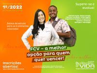 Inscrições abertas para o Vestibular 1º-2022 com Bolsas de Estudo